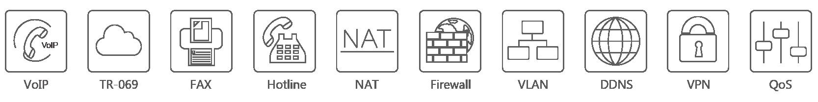 Cổng giao tiếp Gateway FXS Yeastar TA800