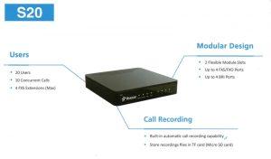 Tính năng Tổng đài VoIP Yeastar S20
