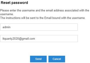 cài đặt lại mật khẩu Tổng Đài IP Yeastar